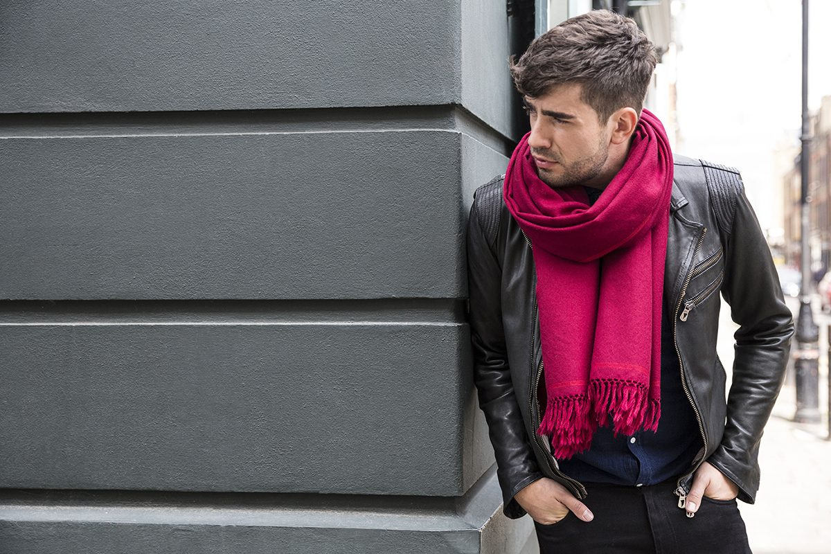 A Man's Guide to Scarf Wearing