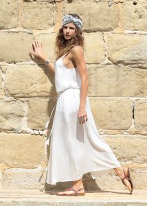 Bianca Strappy Maxi Dress