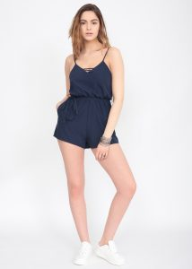 Cote D'Azur Strappy Playsuit