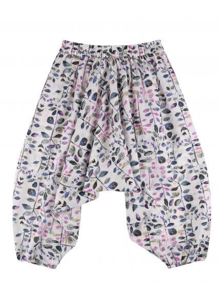 Cotton Harem Pants Pretty Florals Print