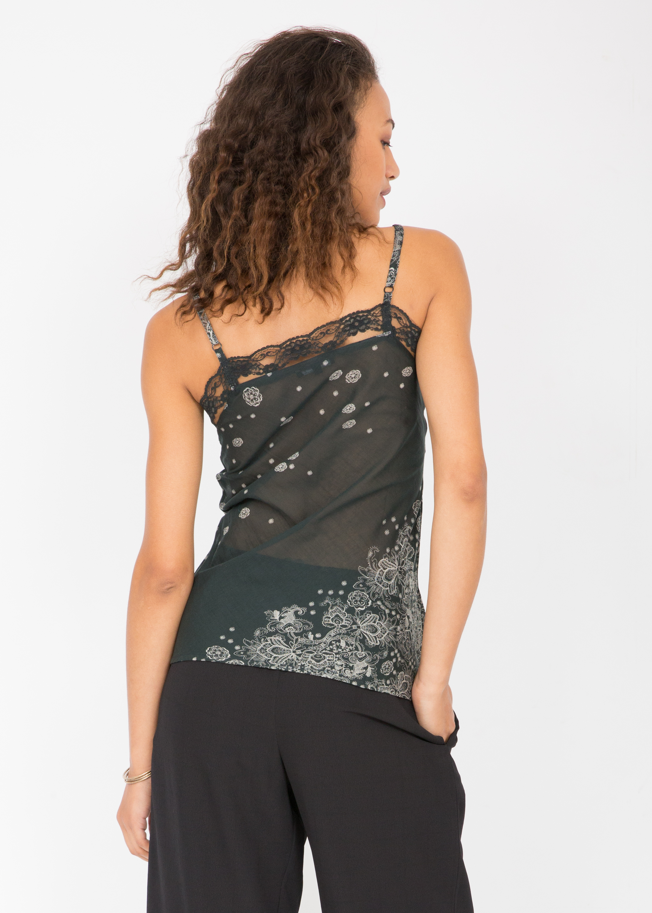 380c369181d170 Cotton Silk Lace Camisole Cami Paisley – likemary