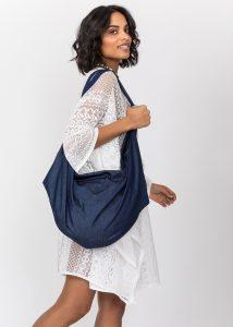 Denim 2 in 1 Shoulder Bag & Rucksack