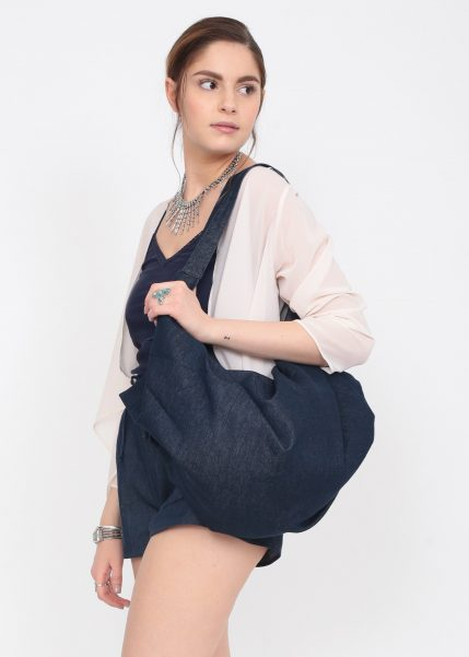 Denim 2 in 1 Shoulder Bag & Rucksack