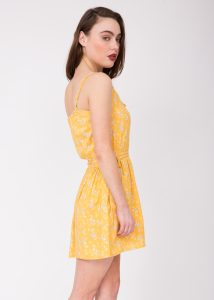 Disty Floral Summer Dress