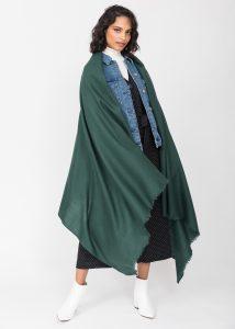 Kasa Merino Handwoven Pashmina & Blanket Scarf 100 X 200cm Holly
