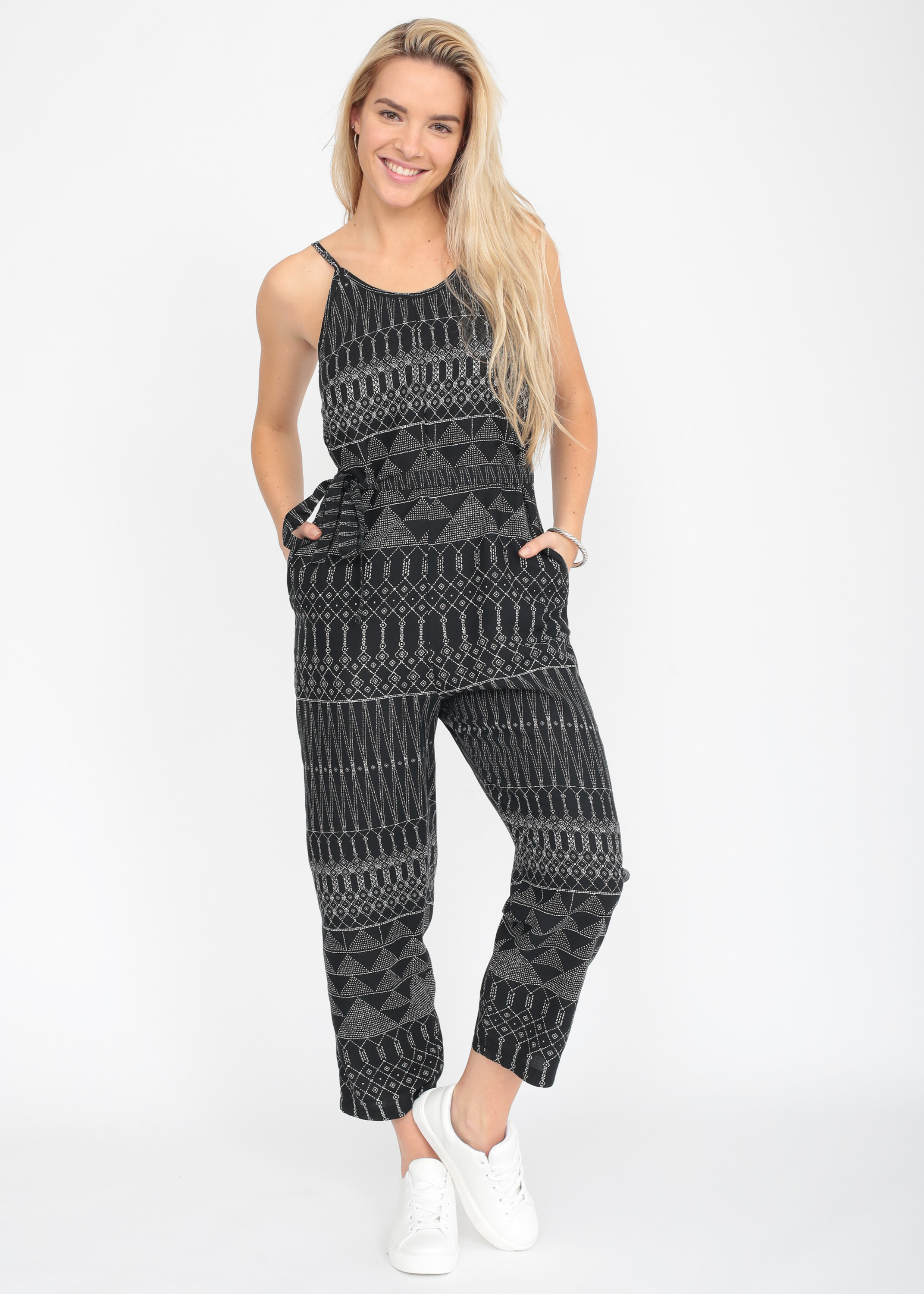 d362ecff086f Relaxed Strappy Printed Romper Jumpsuit – likemary