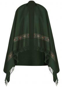 Takhi Merino Handwoven Oversize Scarf Green 100 X 200cm