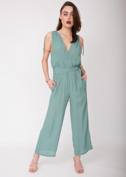 wrap-front-plunge-jumpsuit-mint